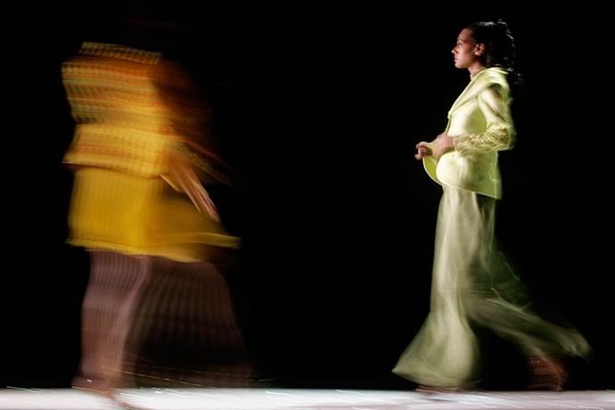 Renato Balestra fashion show, Rome 2006  - © Giulio Napolitano