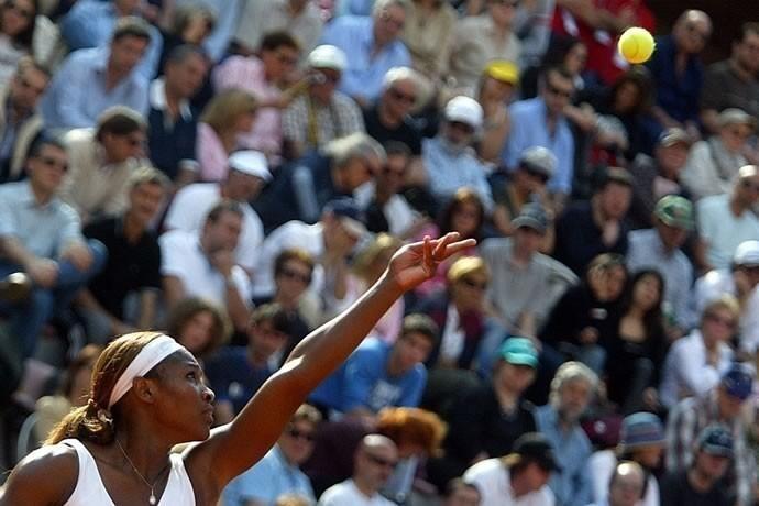 Serena Williams, Italian Masters, Rome 2003  - © Giulio Napolitano