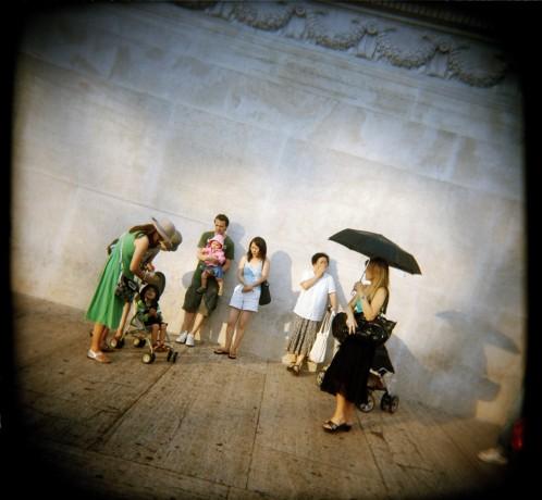 Piazza Venezia, street scene - © Giulio Napolitano