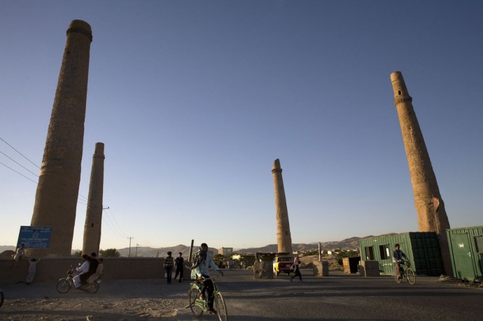 The Four Minarets in Herat testify the high grade of civilization of Afghanistan - © Giulio Napolitano