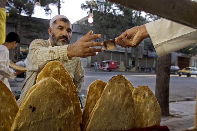 Bakery store in Bamyan - © Giulio Napolitano