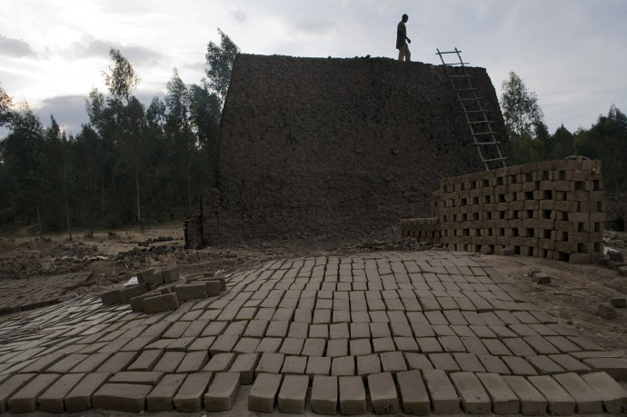Bricks factory, one of the most dangerous human activity for the existence of marshlands  - © Giulio Napolitano