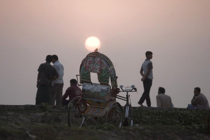 Sunset in Cox's Bazar - © Giulio Napolitano