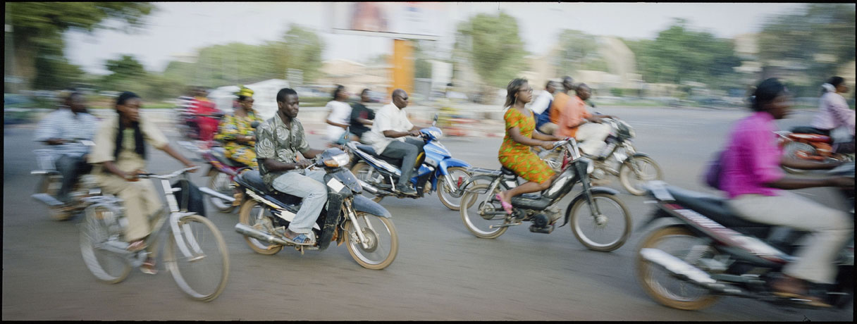 Ouagadougou rush hour: between 2005 and 2050 the population is projected to triple in Burkina Faso  - © Giulio Napolitano