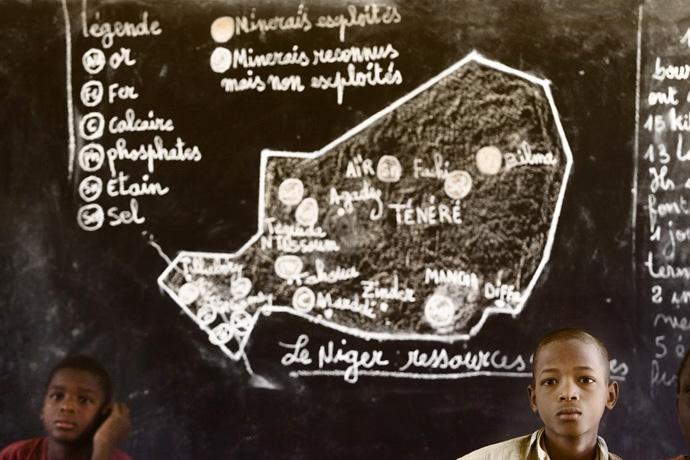 Primary school, Keita - © Giulio Napolitano