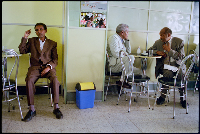 Coffee time at Bar Vittoria, Asmara - © Giulio Napolitano