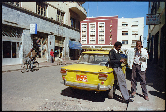 Taxi drivers waiting for customers, Asmara - © Giulio Napolitano